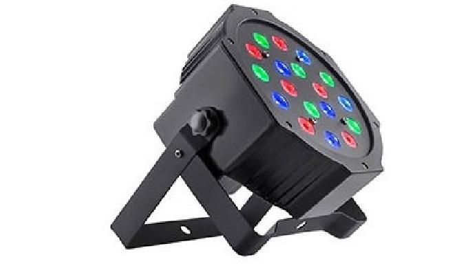 Foco par LED RBG - Interior y Exterior