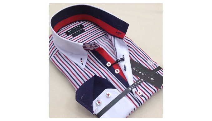 Model Cette slimfit men's shirts