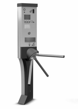Turniket s pokladnou je komplexní zařízení, jež umožňuje řízení pohybu a kontrolu vstupu osob do zpoplatněných prostor o