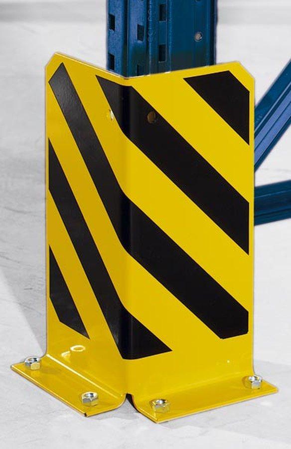 inklusive BodenankerEntsprechend der DIN EN 15635 und den Richtlinien der BGR 234. Mit schwarz / gelber Warnmarkierung.