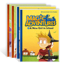 English Comic Book_Magic Adventures