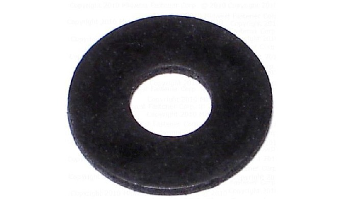 A neoprene flat washer is a flat disc with a centrally located hole. Neoprene flat washers have excellent abrasion and f