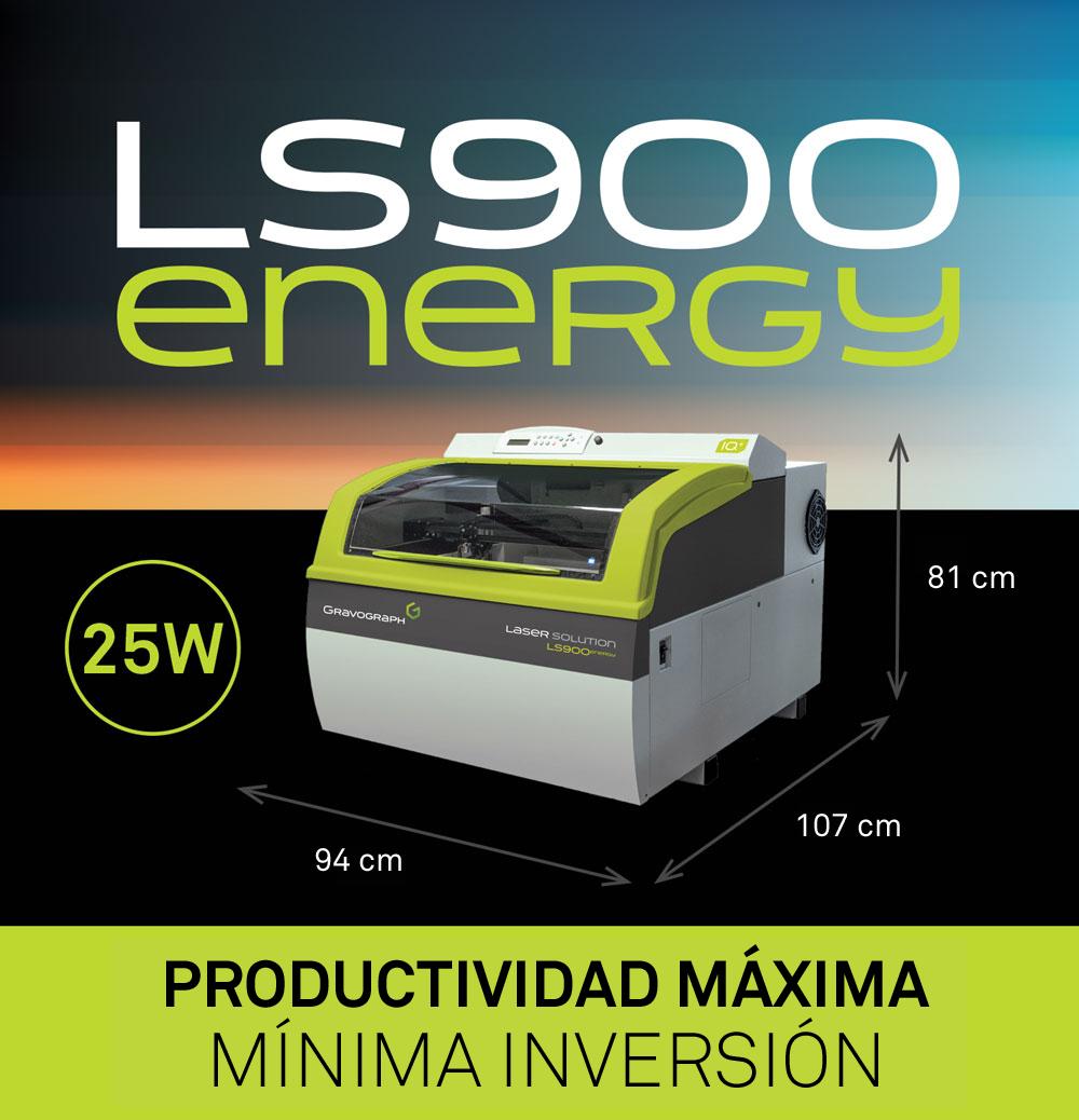 La máquina laser LS900 Energy de Gravograph gana el premio ''Producto del Año''