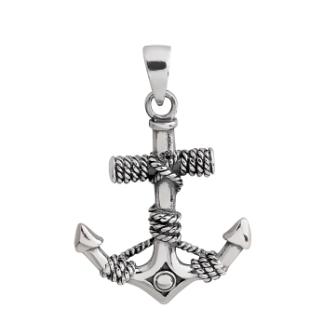 925 Silver Man Pendant
