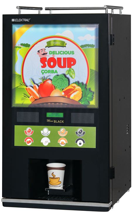 Souper Soup Dispenser is our new range of Soup dispensing machine. This is a perfect fit in all HoReCa, and corporate of
