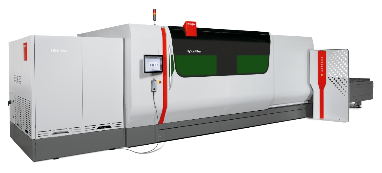 Fiber laser cutting without compromises Full power: Whatever you cut in the future, the ByStar Fiber provides everything