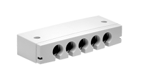 The MJB Modular Junction Box is designed for use together with OpenBus™ control boxes (CB6S,CB16,CB20). The MJB makes
