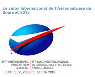 Le salon International de l'Aéronautique du Bourget 2015