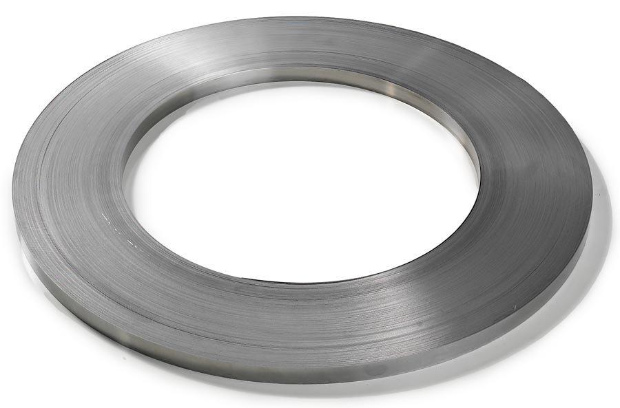 Bandbreite 16 mmStahlband, blank, 16 mm breit, 0,5 mm stark, 240 m auf Spezialspule.Stahlband – Höchste Bruchfestigkeit