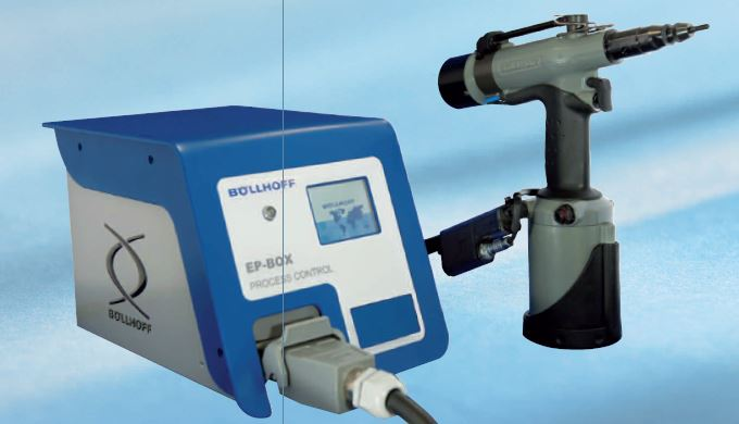 Nueva remachadora RIVKLE® EP X009 con control de proceso