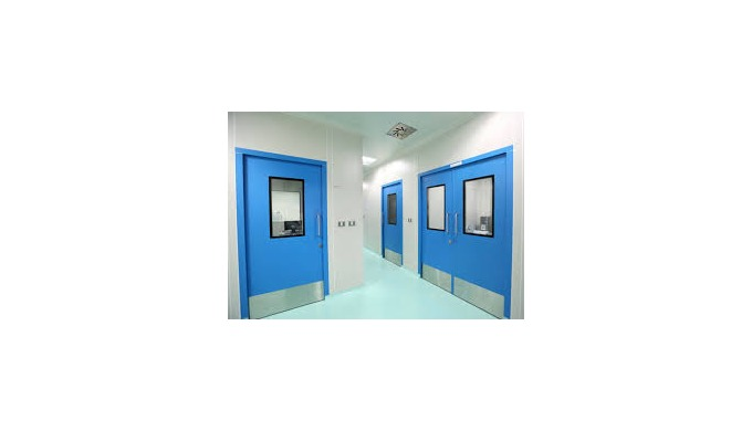 Cleanroom doors can be manufactured as per client requiremnt
