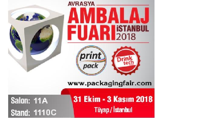 AVRASYA AMBALAJ FUARI İSTANBUL  2018