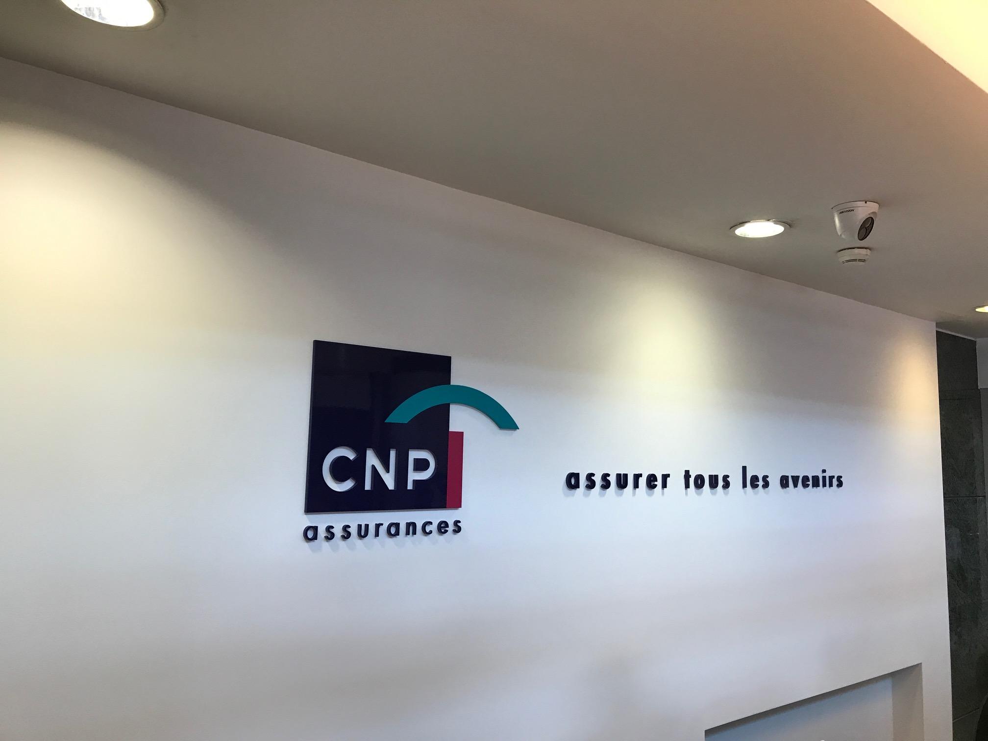 Signalétique Siège CNP Assurance