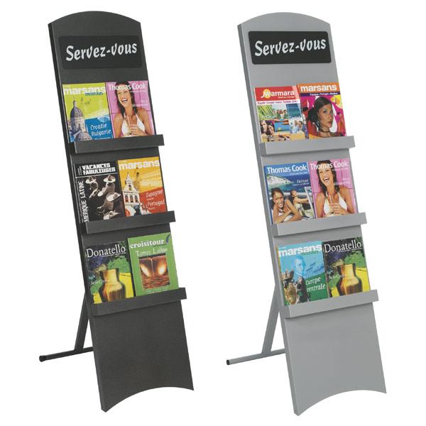 Pour tout type de brochures, catalogues, prospectus Présentation et distribution facile de documents dans vos espaces d'