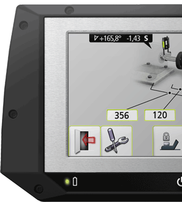 Det nya laserbaserade axeluppriktningsverktyget Fixturlaser EVO är ännu enklare att hantera. Det här är en produkt helt