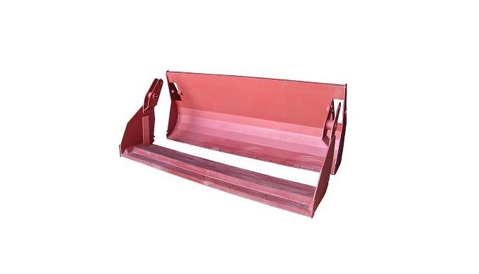 1. Ковш челюстной предназначен для транспортирования на малые расстояния и погрузки из собранного в кучи строительного с