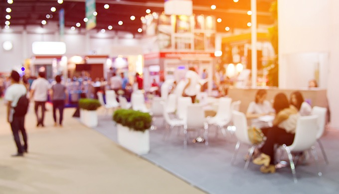 Exhibitions, trade shows, conferences and forums