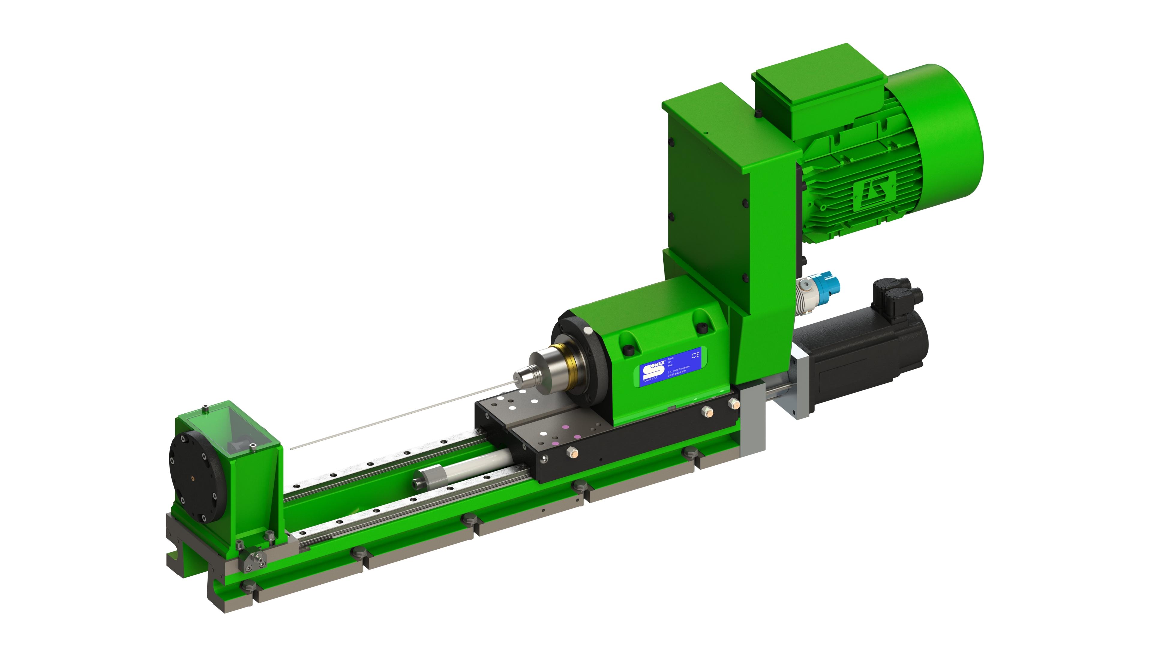 ECPP40-200  - Unité de perçage profond, capacité de perçage de Ø3 à Ø5 mm