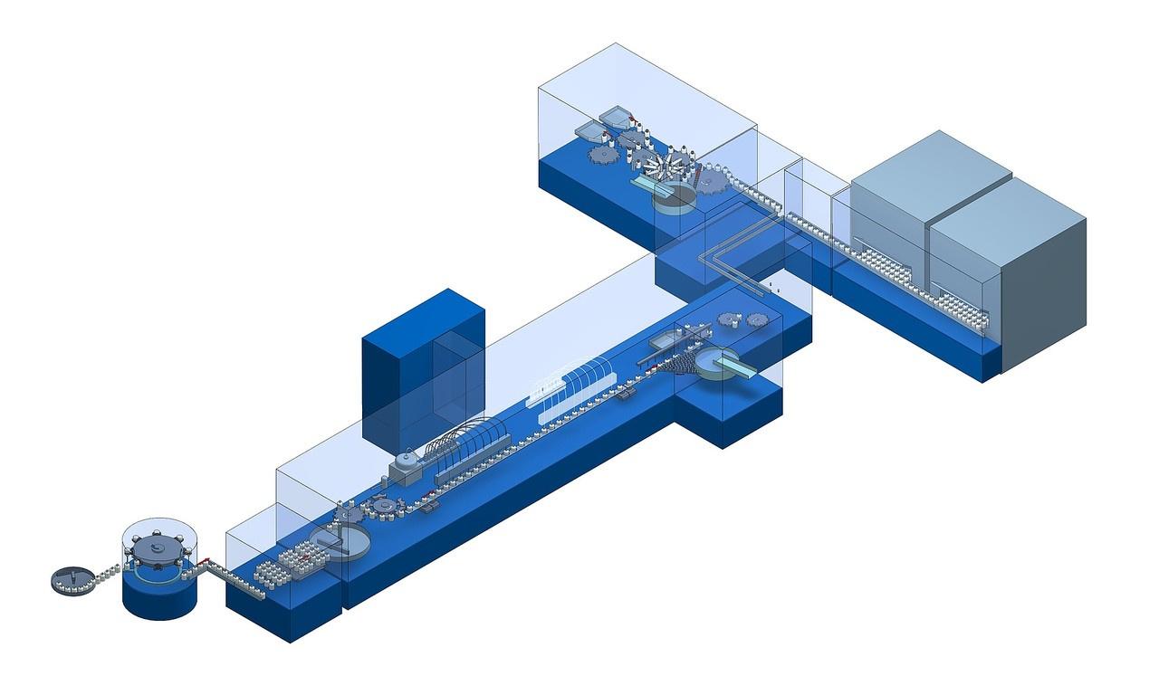 Für den aseptischen EinsatzbereichSchonender Objekttransport Dosiersystem: Rotationskolben System, Peristaltikpumpen Sys