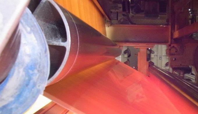 séchage et polymérisation d'enduction hydrosoluble Réalisation de pré-imprégné et polymérisation d'enduction (Acryliques