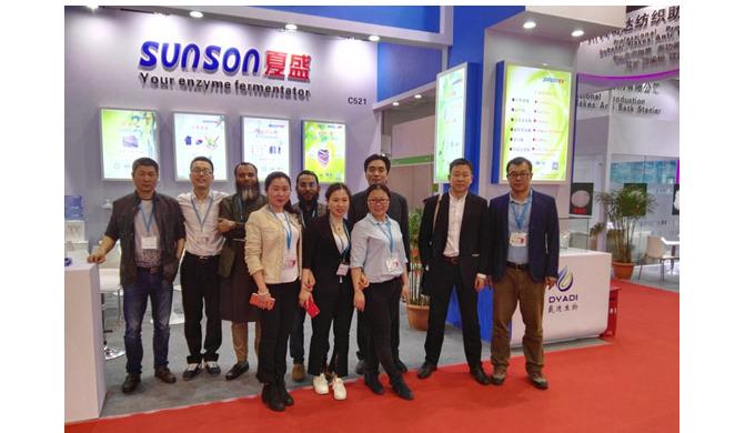 Sunson in China Interdye 2018