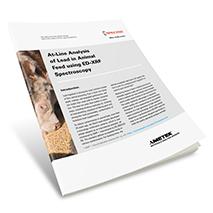 Applikationsbericht: At-Line-Analyse von Blei in Tierfutter mithilfe der ED-RFA-Spektrometrie