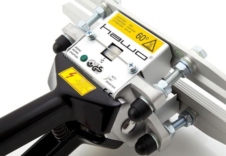 These HAWO™ hand heat sealers are premium devices for use on projects where seal quality needs to be ensured. These expe