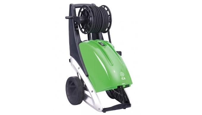 Pompe en ligne 3 pistons céramique (longévité x 5) Moteur/pompe basse vitesse 1 400 tr/min (durable) Arrêt automatique t