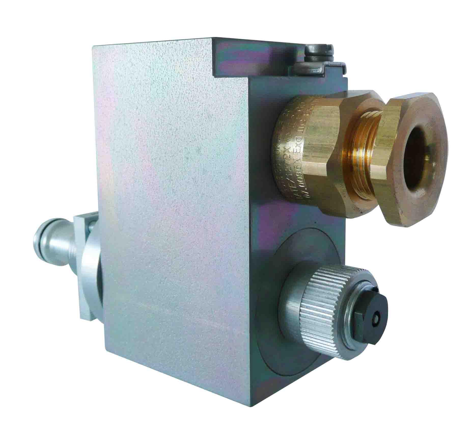 Proporcionální pojistný ventil do výbušného prostředí