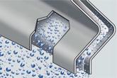 Lechler Tropfenabscheider für horizontale Anströmung Typ LTH 100 Der LTH 100 zeichnet sich durch seine vielfältigen Anwe