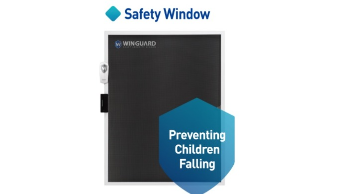 The child safety accident at home is Falling! Keep your child safe with Winguard!  1) Unbreakable Durability 2) Special