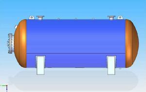 Tlakové nádoby - Ležaté vzdušníky
