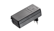 The Switch Mode Power Supply called SMPS001 or SMPS002 supplies power to various HOMELINE®systems typically used for ap
