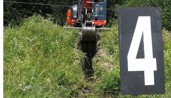 Technische Untersuchung 300 m Schiessanlage in Flims Dorf