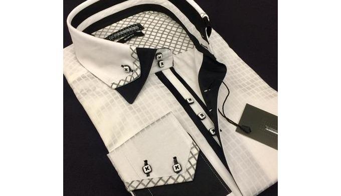 100 % coton chemise-hommes