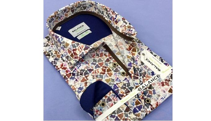 Цифровые печатные рубашки на % 97 хлопок % 3 эластан ткани