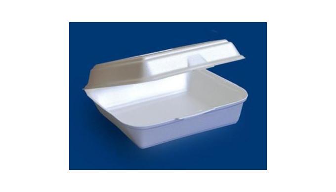 Caserole alimentare din plastic EPS. Domenii: HoReCa.