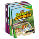 English Comic Book_School Adventures