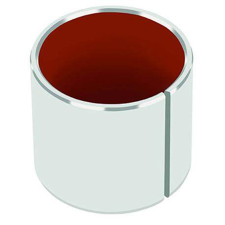 Le palierlisse compositeDP4® fonctionne à sec avec une bonne résistance à l'usure et un faible coefficient de frotteme