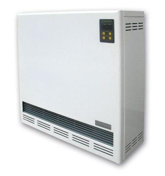 Piec akumulacyjny dynamiczny z bezprzewodowym pomiarem temperatury. Urządzenie służy do ogrzewania domów i mieszkań z wy