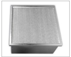 Filtrační kazety, rámečkové filtry i pro vysoké teploty