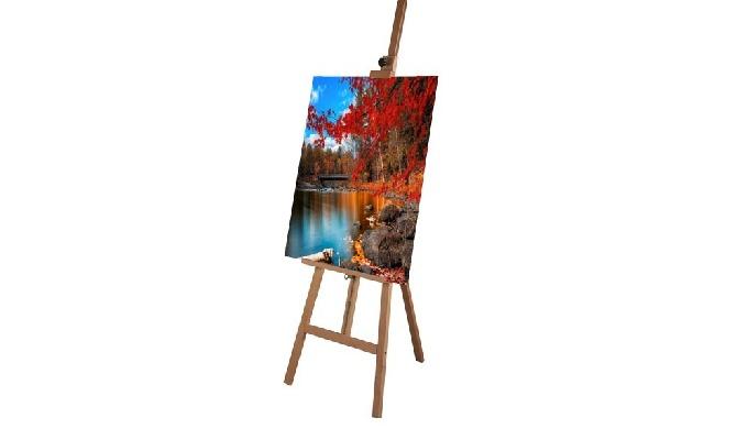 Chevalet pour peinture. Pour dessiner ou peindre, il est crucial d'être confortablement installé et de se munir d'un acc