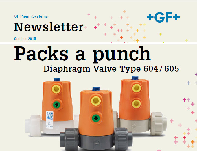 Packs a punch - Diaphragm Valve Type 604/605 - October 2015