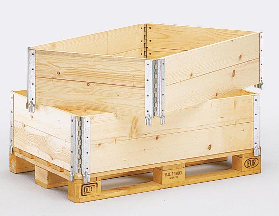 diagonal klappbar, mit 4 ScharnierenWände aus 20 mm Nadelholz, vierseitig gehobelt. Diagonal klappbar, mit 4 Scharnieren