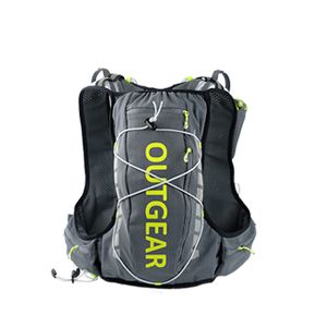 light weight hydration race vest with refelctive logo. Equipped with a 2L bladder with quick release valve. Two easy a