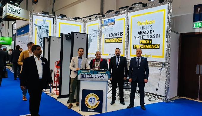 Elektral at Intersec 2019 Exhibiton