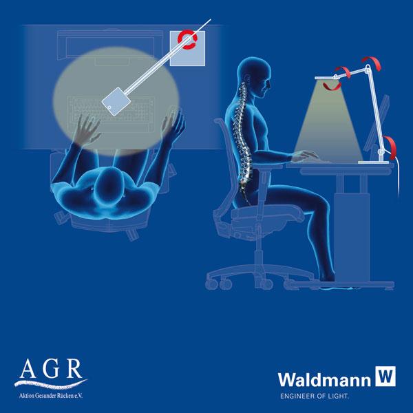 Gutes Licht für einen gesunden Rücken