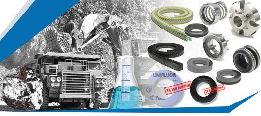 Garnitures Mécaniques Tresses Joints plats Joints spiralés Joints metallo-plastiques Joints tournants Compensateurs Lubr