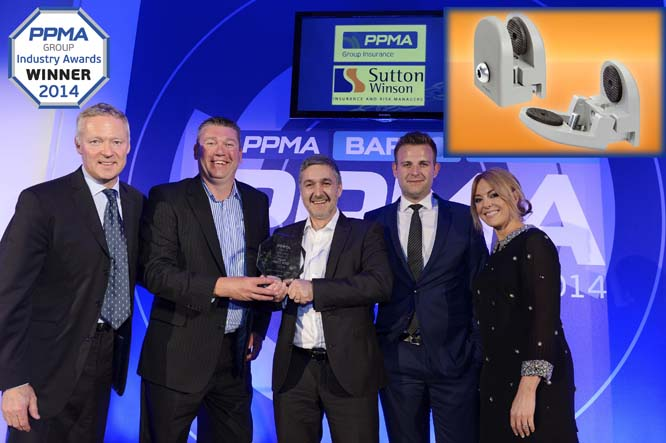 "Panel Support Clamp from Elesa (UK) is judged ""Most Innovative Auxiliary Equipment"" at 2014 PPMA Awards"