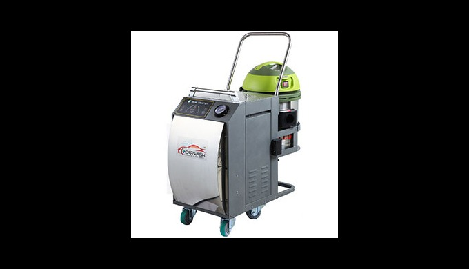 SVC777 is ALL IN ONE model equipped with steam and vacuum cleaner together, which can use general electricity not indust